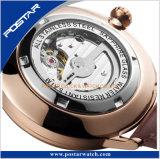 Fond transparent de haute qualité montre-bracelet automatique 21 bijoux