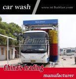 3 balais bus de l'Italie et machine de lavage de camion déménageant automatiquement