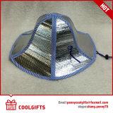 Chapéu de palha Foldable relativo à promoção da pesca de 6 dobras