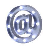 LED 장식적인 가벼운 큰천막 빛 3D 전시 LED 편지