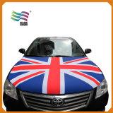 140X180cm Tecido ecológico Custom impresso Car Gas Hood Flag