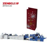 Бумага Sheet-Feeding подарочный пакет решений машины (ZB700CS-240)