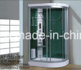 1200mm Corner Steam Sauna com chuveiro (AT-D8813F)