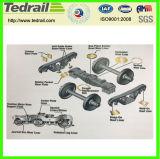 Placas del desgaste usadas para prevenir el carro de la carga