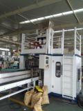 Reis-Puder-Verpackungsmaschine mit Förderanlage und Nähmaschine