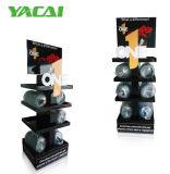 El cartón Double-Sides Rack de almacenamiento, Estanterías de visualización de cartón resistente