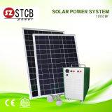 Используемая домом солнечная машина электрической системы 1000W неразъемная