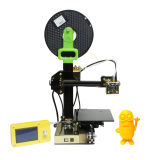 2017 imprimante en aluminium de l'appareil de bureau 3D de haute précision du profil 150*150*100mm d'élévation mini