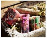 Candela di lusso della colonna della decorazione domestica, candela profumata della colonna