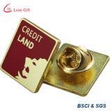 Pin su ordinazione del risvolto dell'oro dello smalto di evento di promozione