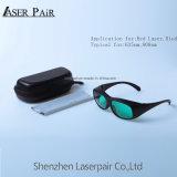 Le laser rouge de RDT 635nm O. D4+ la transmittance de 30 % du prix de gros de haute qualité des lunettes de sécurité à partir d'Lasepair Laser