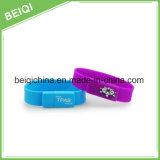 Bracelet en silicone watch USB 2 Go, Bracelet en caoutchouc USB 4GB, bracelet lecteur Flash USB 2 Go