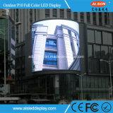 Modulo esterno dello schermo di visualizzazione del LED del TUFFO P10