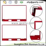 장식적인 밝은 빨간 알루미늄 부속품 텔레비젼 구조물 물자