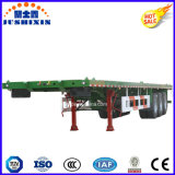 40 Fuß 3axles Plattform-Behälter-Ladung-LKW-Traktor-halb Schlussteil-