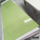 superficie solida di marmo artificiale Bendable di 6mm Staron per il controsoffitto