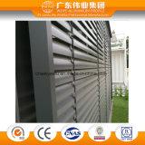 Usine chinoise de haute qualité d'aération de porte en aluminium