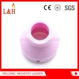 l'ugello di ceramica dell'allumina 53n24 fa domanda per il cannello per saldare di TIG di Wp24/Wp24W