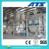 Produção de alimentos para aves de capoeira de máquinas de produção da fábrica de Alimentação