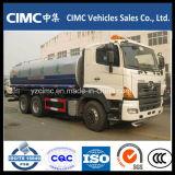 Camion 15-20m3 de réservoir de carburant de l'eau/de Hino