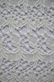 숙녀의를 위한 Dresses 잎 패턴 자수를 가진 신식 최신 판매 폴리에스테 레이스 직물