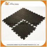 60x60cm coloridas alfombras de goma de enclavamiento de Crossfit
