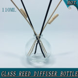 Bouteille de 10 ml en rotin à bille ronde Reed Stick Glass Reed Diffuser Bouteille