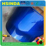 Декоративная светящаяся глянцевая конфеты голубой прозрачной пигментной краски порошковое покрытие