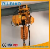 Electric Trolley를 가진 두 배 Chain Return Electric Chain Hoist