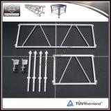 Altura ajustable de aluminio de alta calidad etapa Modular Portable