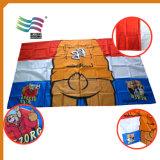 Флаг плащи-накидк тела конструкции изготовленный на заказ полиэфира логоса национальный (HYFC-AF021)