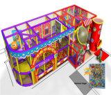 Beifall-Unterhaltungs-Zirkus-themenorientierte Kind-Innenspielplatz für Verkauf