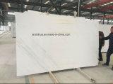 Le marbre blanc de la dalle de marbre Calacatta Gold