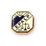 La promoción de esmalte personalizado Logo de la empresa Pin como Cordón del Ejército de aluminio