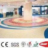 屋内無地のビニールのフロアーリングのスポンジの床の商業公共のモールのヘルスケア
