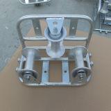 Una puleggia triplice di alluminio del cavo del rullo di 130mm*160mm