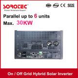 On/Off Grid inversor Solar Híbrido 3kVA a 48V 80A MPPT Controlador de carga solar