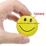 Sonrisa cara Badge Mini DV HD cámara de seguridad CCTV DVR Grabador de vídeo Cam
