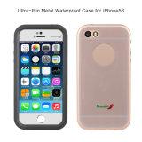 Водоустойчивый случай сотового телефона с защитным бампером металла на iPhone 5 5s