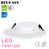 12W Round acrylique LGP LED Light Panel avec grand radiateur LED Light Panel