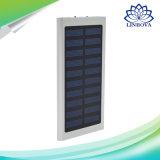 20000mAh提供されるユニバーサル二重USBの太陽充電器の超細いラップトップ力バンク携帯用外部電池の太陽エネルギーバンクの自由なロゴ