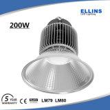 Altas luces industriales 200W de la bahía LED de Gynasium con el ángulo 110degrees