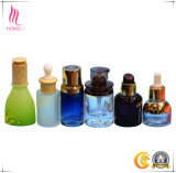 10ml 20ml 30ml 50ml Blue Glass Dropper Botella de aceite esencial de aromaterapia