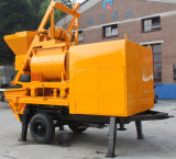 Große Kapazitäts-hohe Leistungsfähigkeits-elektrische Betonpumpe mit Mischer
