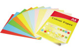 Assortiment de 10 papiers colorés