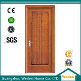Prehung PVC Composite Interior Porta de madeira para hotel / moradia