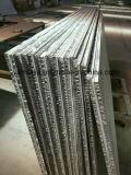 El panel de aluminio Composited del panal con las piedras de Natual