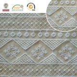 Wedding&Homeの織物E30017のためのさまざまな花のレースのファブリック、白および空想