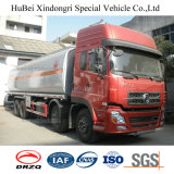 vrachtwagen van de Tanker van de Brandstof van de Aardolie van Hexaan 3 van 27cbm Dongfeng Kinland de Euro Chemische