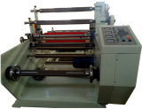 Kleber gedruckter Kennsatz, der die Maschine konvertiert (das Rückspulen aufschlitzend)